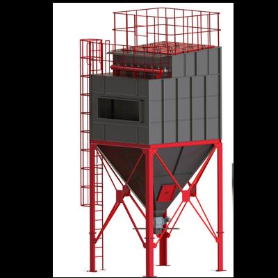 מערכת סינון אבק כבד דגם PLTF