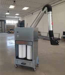 מערכת סינון אוויר ניידת דגם ECART