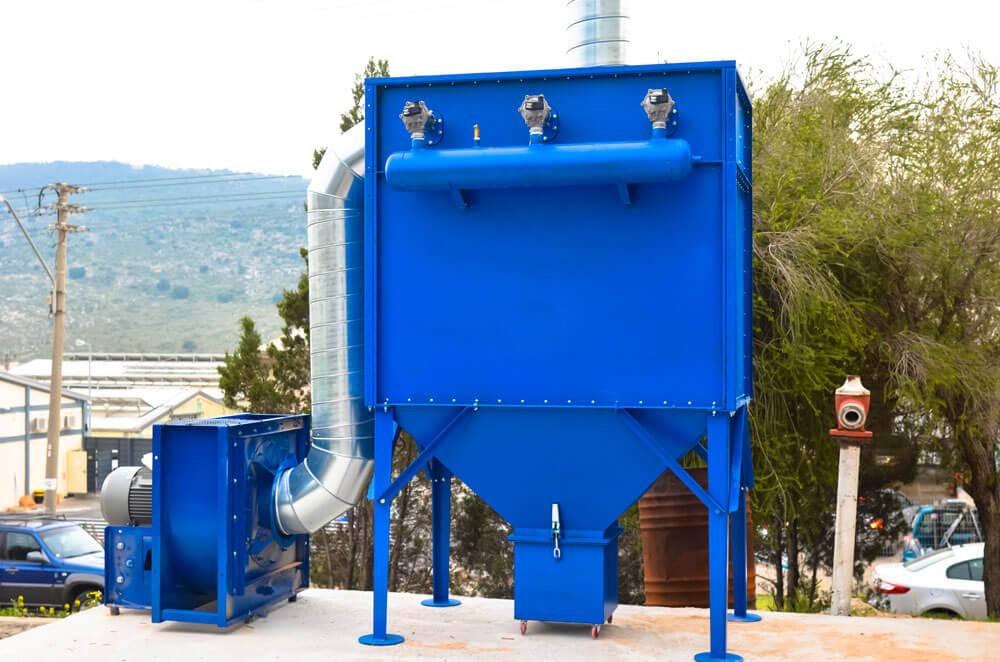 מערכת סינון אבק תעשייתית