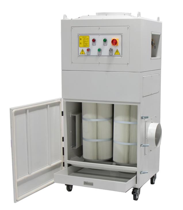 מערכת סינון אוויר עם מפוח אינטגרלי דגם JDP