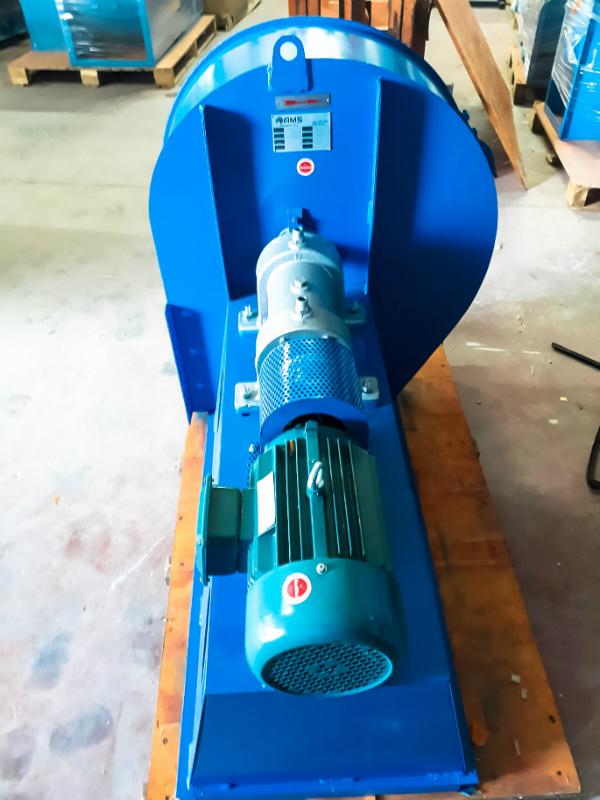 פרוייקט סחרור אוויר בתנור תעשייתי
