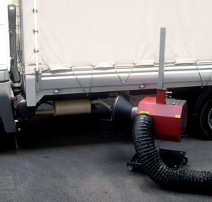 שאיבת גזים מכלי רכב
