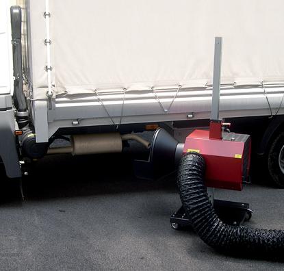 מערכות לשאיבה גזים מכלי רכב