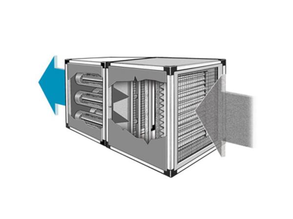 מערכות סינון אוויר רב שלביות לטיפול בחלקיקים וגזים - 39