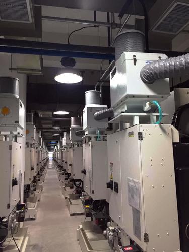 מערכת סינון מקומית לאדי שמן ואמולסיה במכונות עיבוד שבבי