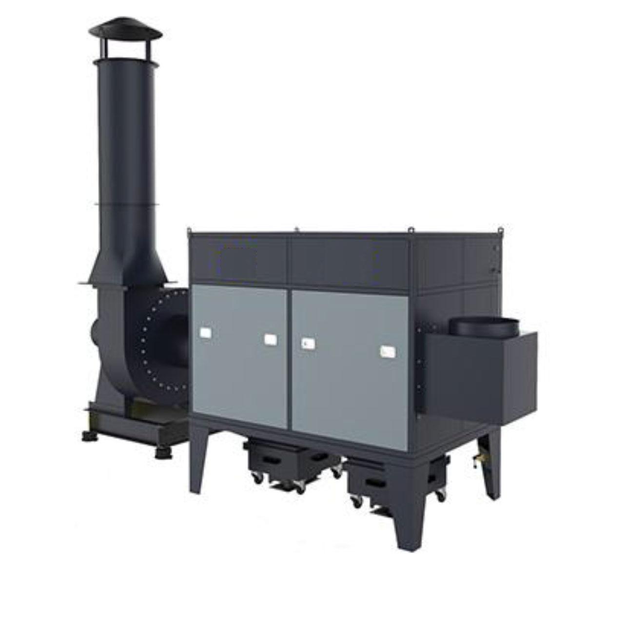 מערכת סינון לאבק ועשן  מדגם JCD
