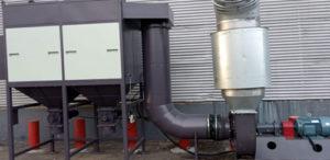 מערכת סינון אבק מדגם JCD-185