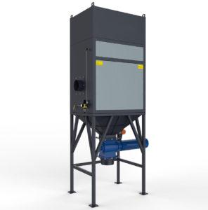 מערכות סינון אוויר מסדרת JDP-U