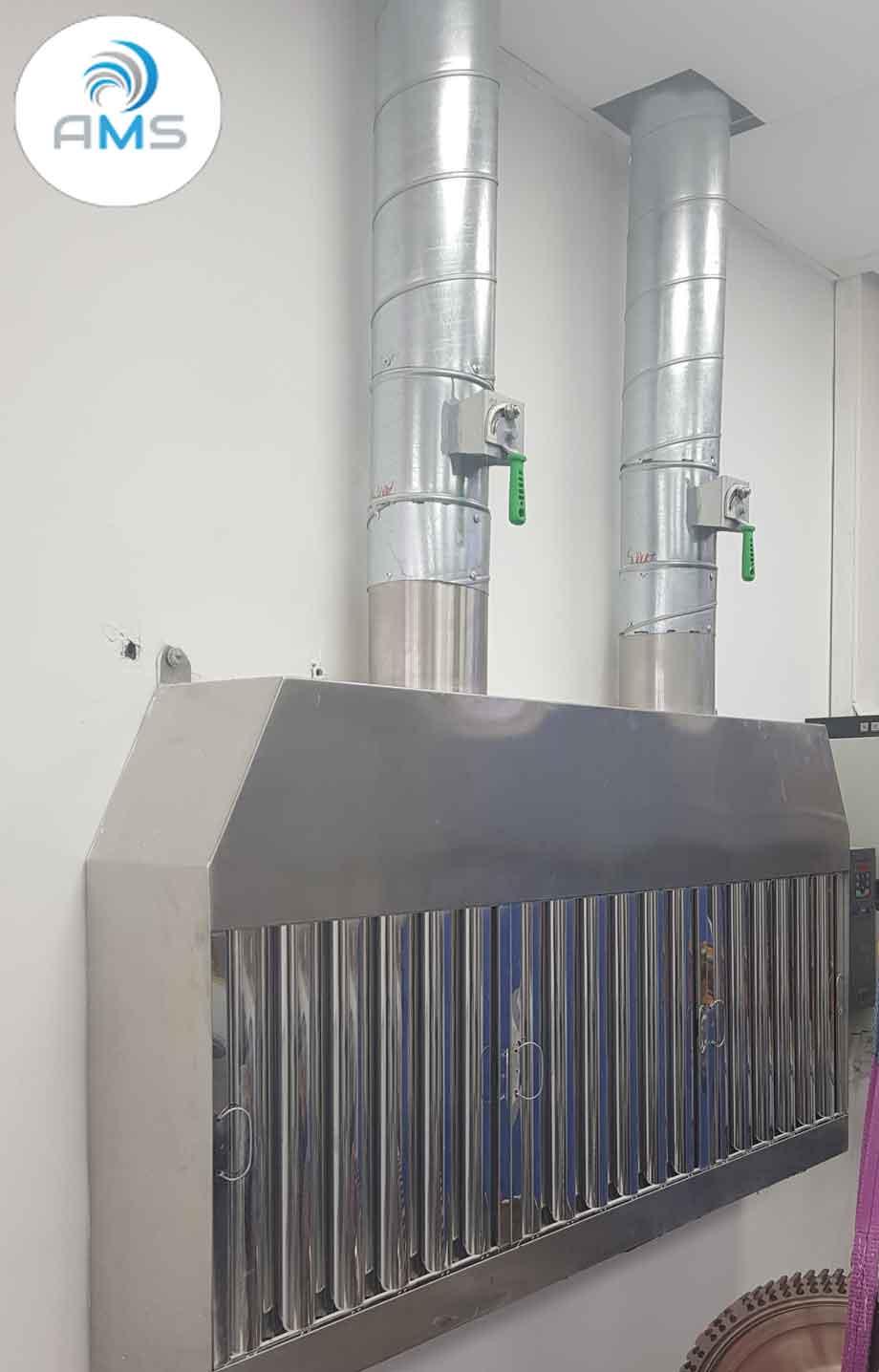 נידוף וסינון של תרכובות אורגניות נדיפות [VOC] ממעבדה