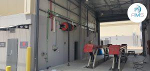 התקנת מערכות שאיבת עשן מכלי רכב למוסך מרכזי